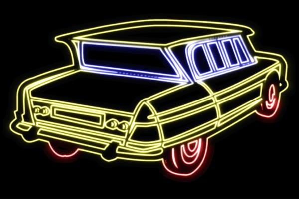 ネオン 車 66 くるま 国産品 クルマ カー いよいよ人気ブランド CAR 自動車 ディーラー 旧車 アメ車 外車 大人気 サイン アメリカン雑貨 LED 電飾 インテリア 看板 neon ライト ネオンライト ネオンサイン 店舗 イルミネーション