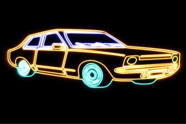 【ネオン】車【72】【くるま】【クルマ】【カー】【CAR】【自動車】【ディーラー】【旧車】【アメ車】【外車】【ネオンライト】【電飾】【LED】【ライト】【サイン】【neon】【看板】【イルミネーション】【インテリア】【店舗】【ネオンサイン】【アメリカン雑貨】