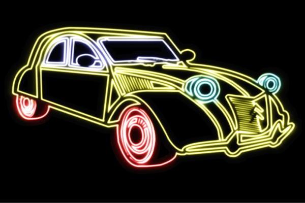 ネオン お得なキャンペーンを実施中 車 75 くるま クルマ カー CAR 自動車 ディーラー 旧車 アメ車 外車 海外並行輸入正規品 大人気 neon アメリカン雑貨 電飾 LED ライト 看板 ネオンライト イルミネーション 店舗 インテリア ネオンサイン サイン