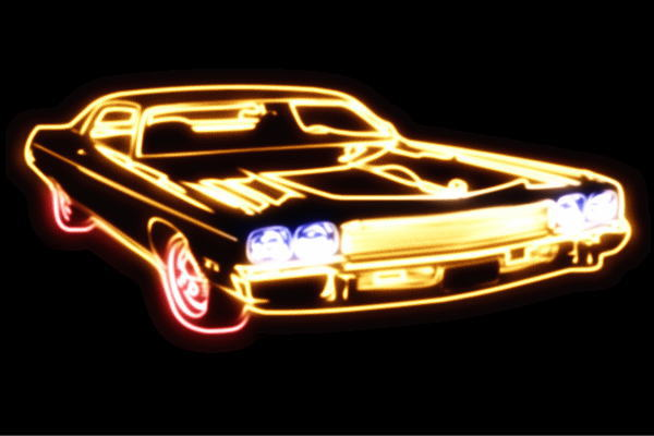 【ネオン】車【79】【くるま】【クルマ】【カー】【CAR】【自動車】【ディーラー】【旧車】【アメ車】【外車】【ネオンライト】【電飾】【LED】【ライト】【サイン】【neon】【看板】【イルミネーション】【インテリア】【店舗】【ネオンサイン】【アメリカン雑貨】