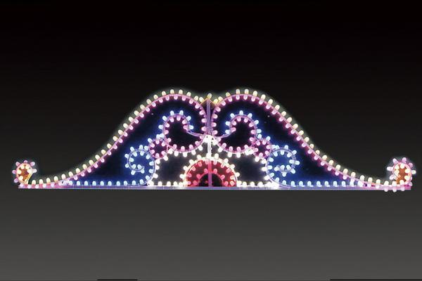【イルミネーション】【大型商品】ルミナリオン【C】【門】【アーチ】【LED】【電飾】【装飾】【飾り】【光】【電飾看板】【看板】【光】【モチーフ】【イベント】【会場】【クリスマス】【かわいい】