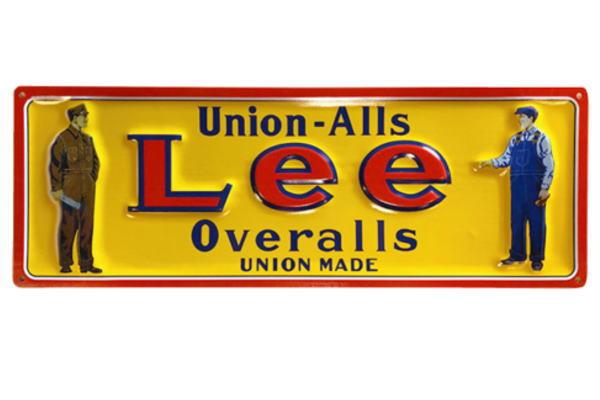 【アメリカン雑貨】エンボスメタルサイン【M】【Lee Overalls】【Lee】【ジーンズ】【レプリカ】【メタル】【雑貨】【アメリカ雑貨】【看板】【ボード】【BAR】【カフェ】【インテリア】【アメリカ】【メタルサイン】【プレート】【USA】【かわいい】【おしゃれ】
