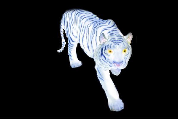 【イルミネーション】ホワイトタイガー【タイガー】【ホワイト】【野生】【動物】【アニマル】【3D】【装飾】【飾り】【アート】【輝き】【電飾】【モチーフ】【クリスマス】【クリスタル】【かわいい】
