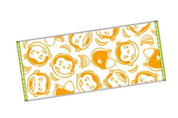 おさるのジョージ フェイスタオル わくわくジョージ ジョージ ひとまねこざる Curious George 絵本 たおる アニメ 登場大人気アイテム キャラクター 生活雑貨 タオル グッズ ●手数料無料!! かわいい