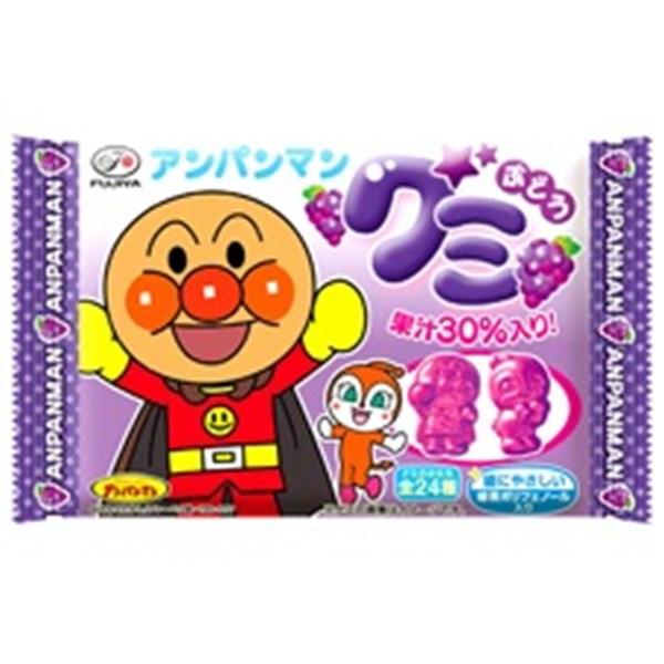 アンパンマングミ ぶどう 20入 駄菓子 日本正規品 通販 おやつ お祭り 低価格化 縁日 くじ引き 子供会 景品