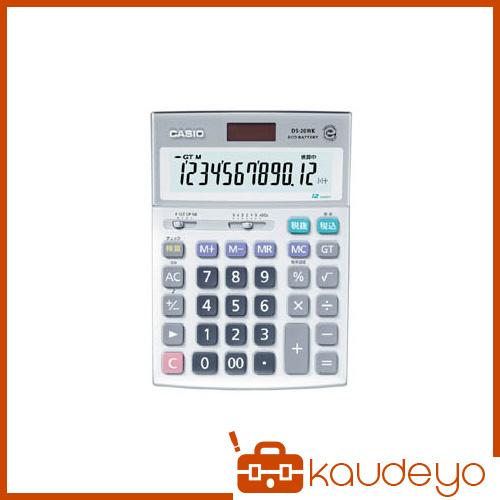 カシオ 検算電卓(デスクタイプ) DS20WK 2007