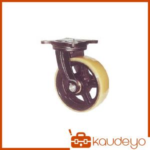 ヨドノ 鋳物重量用キャスター MUHAMG300X75 8026