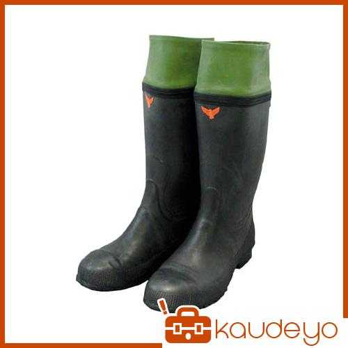 SHIBATA 防雪安全長靴(裏無し) SB31126.5 3321