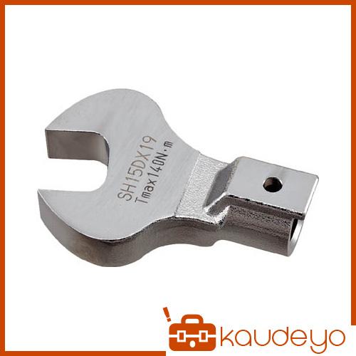 買い物 SH型スパナヘッドはソケットが使えないねじや配管のフレアナット用にまた狭い場所での作業に最適です トーニチ SH型ヘッド 4224 特価キャンペーン SH8DX6