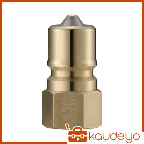 ナック クイックカップリング S・P型 真鍮製 オネジ取付用 CSP16P2 5172
