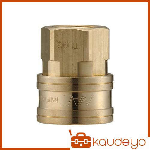 ナック クイックカップリング TL型 真鍮製 オネジ取付用 CTL12SF2 5172