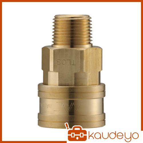 ナック クイックカップリング TL型 真鍮製 メネジ取付用 CTL10SM2 5172