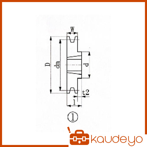 軸穴 販売期間 限定のお得なタイムセール キー溝加工などが不要となり納期管理が容易となります 適用ブッシング 1610 EVN ブッシングプーリー 半額 160mm 1131 SPA SPA1601 溝数1