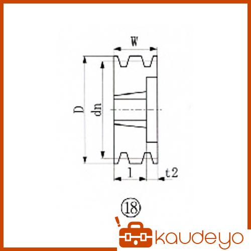 軸穴 キー溝加工などが不要となり納期管理が容易となります 適用ブッシング 2012 EVN ブッシングプーリー 安全 SPZ 125mm SPZ1253 大放出セール 1131 溝数3