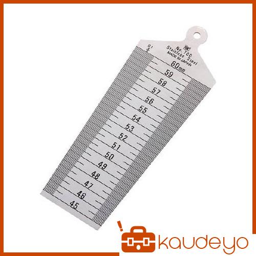 幅のテーパーを利用してすき間を測定します 焼き入れ品です SK 人気の定番 訳あり テーパーゲージ 30~45 TPG700C 8702