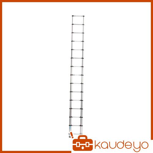 アルインコ 伸縮式梯子 0.9~3.8m 最大使用質量100kg MSN38 1025