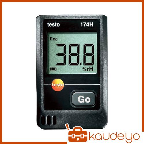 テストー ミニ温湿度データロガ TESTO174H 4325