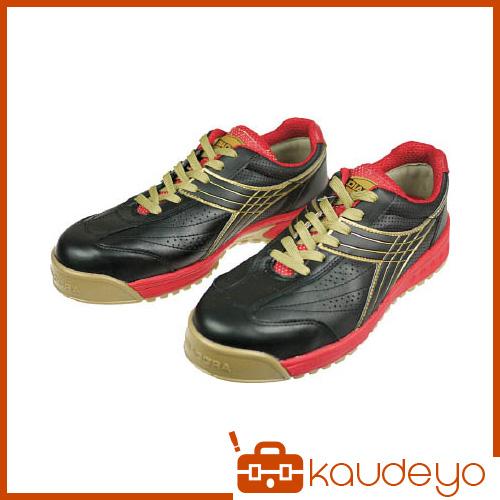 ディアドラ DIADORA 安全作業靴 ピーコック 黒 26.0cm PC22260 4321