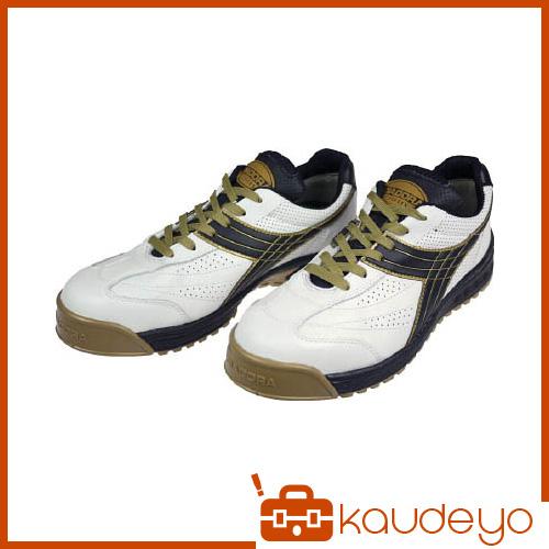 ディアドラ DIADORA 安全作業靴 ピーコック 白/黒 28.0cm PC12280 4321