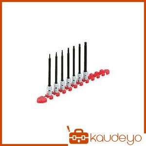 KTC 9.5sq.ロングヘキサゴンビットソケットセット[9コ組] TBT3L09BH 2285