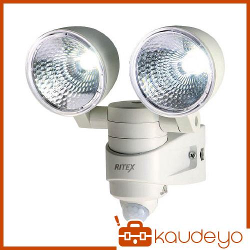 ライテックス 4WLEDセンサーライト2灯 LEDAC28 8086
