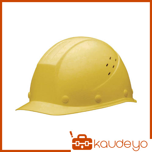 ミドリ安全 FRP製ヘルメット 遮熱タイプ 通気孔付 SC11FVHRAKPY 7186