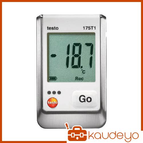 テストー 温度データロガ内蔵1チャンネル TESTO175T1 4325