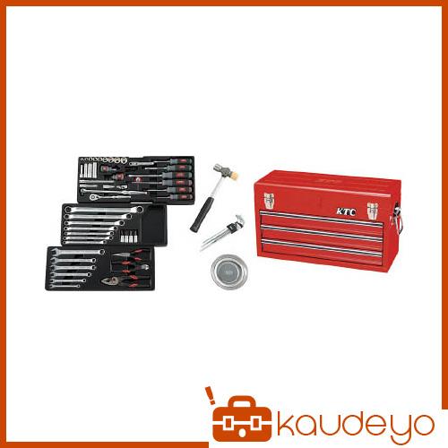 KTC 9.5sq.工具セット(チェストケース) SK3650X 2285