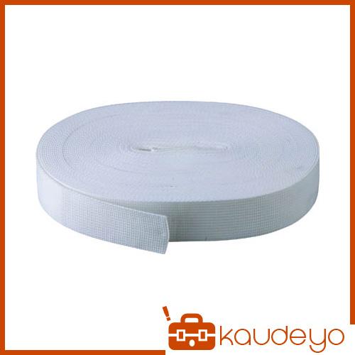 TRUSCO PPベルト幅40mmX長さ50m 白 PPB4050 3100W