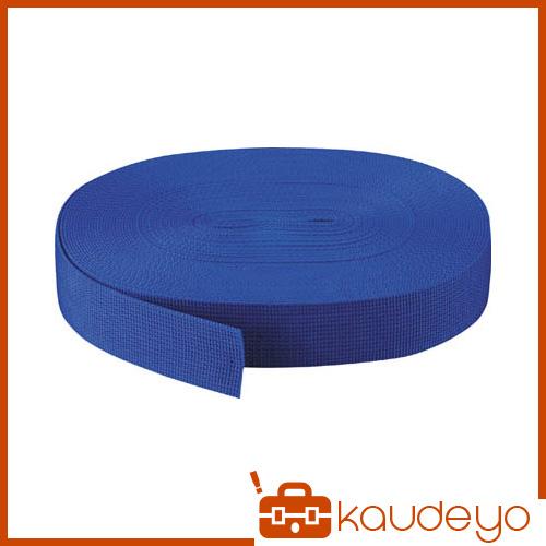 TRUSCO PPベルト幅50mmX長さ50m 青 PPB5050 3100B