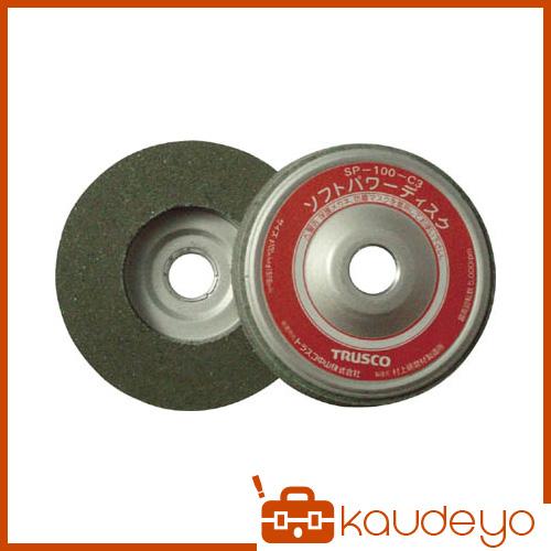 TRUSCO ソフトパワーディスク Φ100 ウレタン樹脂製中仕上げ研磨用 5入 SP100C3 3100
