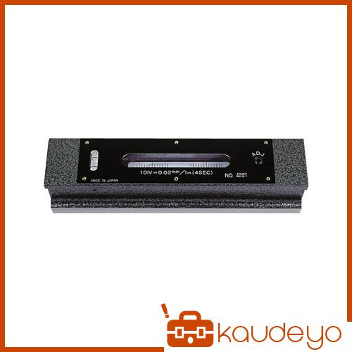 TRUSCO 平形精密水準器 B級 寸法200 感度0.02 TFLB2002 4500