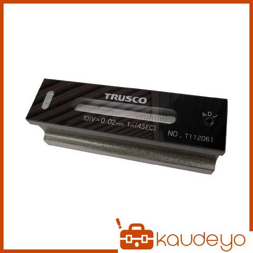 TRUSCO 平形精密水準器 B級 寸法250 感度0.02 TFLB2502 4500