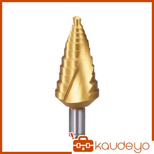 TRUSCO ステップドリル 2枚刃チタンコーティング 6~27mm 段数11 TSDSC27 3100