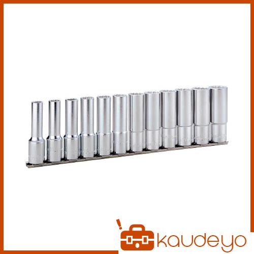 TONE ディープソケットセット(12角・ホルダー付) 12pcs HDL412 8100