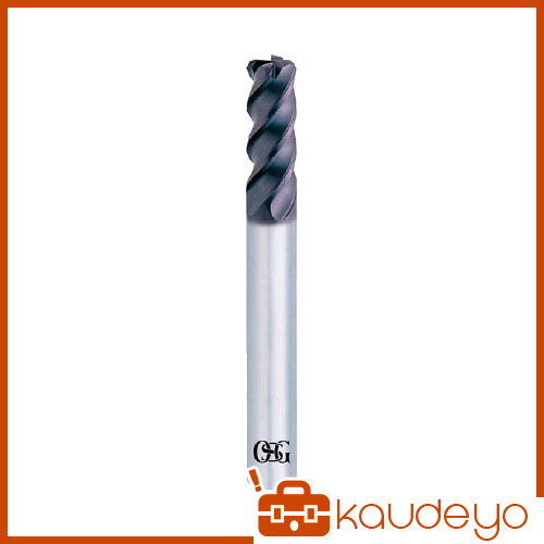 OSG 超硬エンドミル WX4刃コーナRショート(強力重切削型) 16XR2 WXCRPHS16XR2 8669