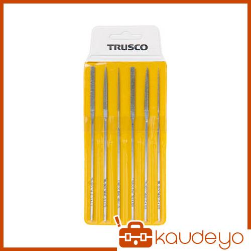 TRUSCO ダイヤモンドミニヤスリ 平・半丸・丸 6本組セット TMIS1 3100
