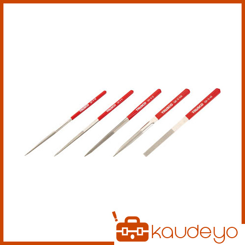 TRUSCO ダイヤモンドヤスリ 鉄工用 5本組 セット GK5SET 3100