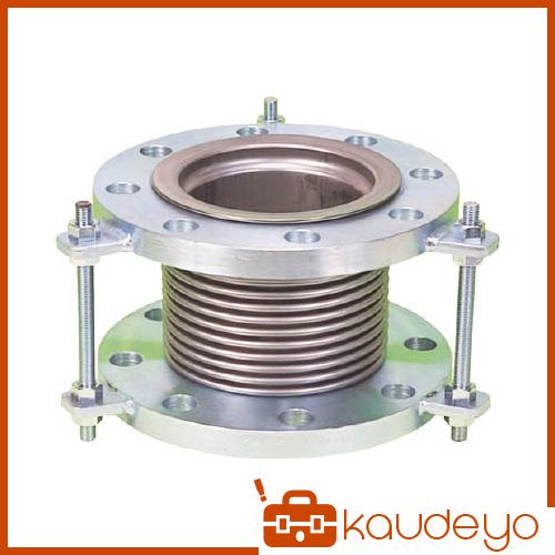 NFK 排気ライン用伸縮管継手 5KフランジSS400 100AX150L NK7300100150 5160