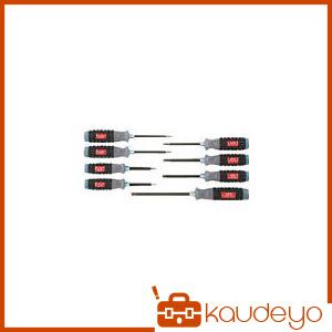 KTC 樹脂柄ボールポイントヘキサゴンドライバセット[8本組] TD1HBP8 2285