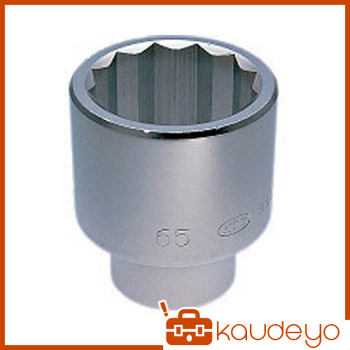 KTC 25.4sq.ソケット(十二角) 71mm B5071 2285