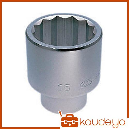 KTC 25.4sq.ソケット(十二角)75mm B5075 2285
