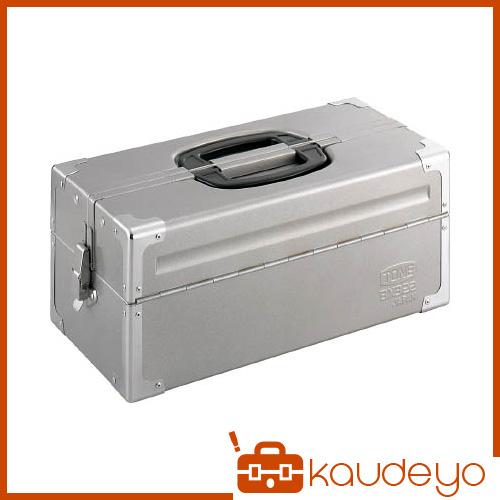 TONE ツールケース(メタル) V形2段式 シルバー BX322SV 8100