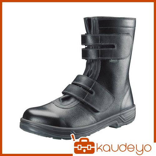 シモン 安全靴 長編上靴マジック式 SS38黒 25.5cm SS3825.5 3043