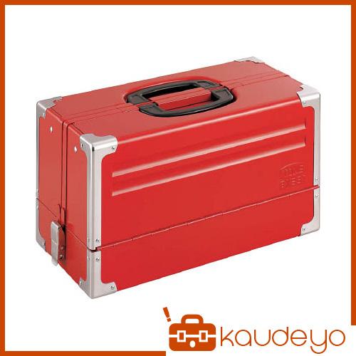 TONE ツールケース(メタル) V形3段式 433X220X240mm BX331 8100