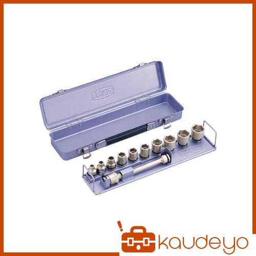 TONE インパクト用ソケットセット(メタルトレー付) 12pcs NV3102 8100