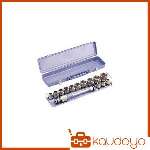 TONE インパクト用ソケットセット(メタルトレー付) 15pcs NV4132 8100