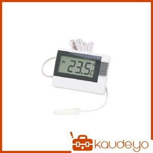 水周りで安心の防滴型温度計です 毎日がバーゲンセール 内部と外部センサー温度切替表示式です 外部センサーのコード長が約2.5mあるので離れた場所の温度も測定できます スタンドタイプです CT130D 美品 カスタム 2201 サーミスター温度計