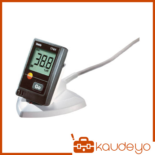 テストー ミニ温湿度データロガUSBインターフェイス付セット TESTO174HS 4325
