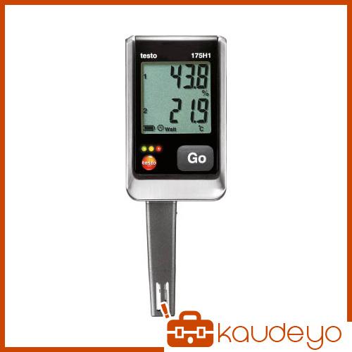 テストー 温湿度ロガNTC・静電容量式内蔵2ch TESTO175H1 4325